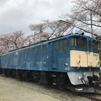 Photo taken at 電気機関車EF64 18 by 糸魚川 勝. on 4/8/2017
