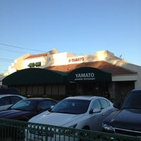 Photo taken at Yamato Japanese Restaurant by George Y. on 10/1/2012
