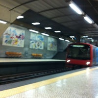 Photo taken at Metro Rossio [VD] by Tiago A. on 5/24/2013