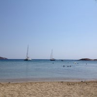 Photo taken at Porto Koundouros Beach by Irrational Talks on 7/15/2013