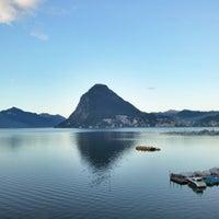 Photo taken at Hotel Lido Seegarten Lugano by Luzi R. on 9/12/2014