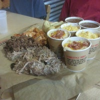 Photo taken at Dickey's Barbecue Pit by Les V. on 2/14/2014