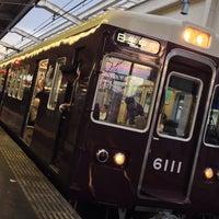 Photo taken at 池田駅 1-2号線ホーム by 大河阪急@HK-08 on 7/4/2014