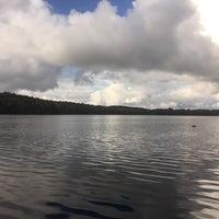 Photo taken at Озеро Бородинское by Olik_408 on 9/24/2016