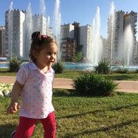 Photo taken at Meydan Yürüyüş - Koşu Parkı by Ali Y. on 4/18/2016