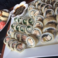 Photo taken at Okasama Sushi & Delivery by Carlos R. on 7/1/2016