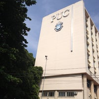 Photo taken at PUC-Rio - Pontifícia Universidade Católica do Rio de Janeiro by Marçal V. on 5/3/2013