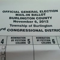 Photo taken at Board Of Elections by justin w. on 11/5/2012