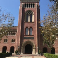 Photo taken at Bovard Administration Building (ADM) by Sean P. on 3/29/2018