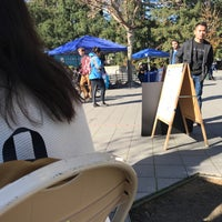 Photo taken at Sproul Plaza by Sean P. on 11/28/2017