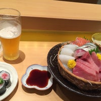 Photo taken at すし亭 ゆず by あゆみ on 6/28/2015