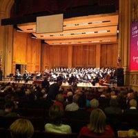Photo taken at Copley Symphony Hall by Heloneida M. on 12/8/2013