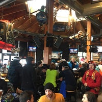 Photo taken at Merlins Bar & Grill Whistler by Andrei M. on 3/1/2017