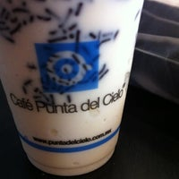 Photo taken at Café Punta Del Cielo by Daniela M. on 1/27/2013