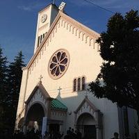 Photo taken at サレジオ教会 (カトリック碑文谷教会) by Takashi N. on 10/7/2012