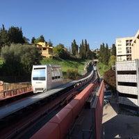 Photo taken at Stazione Minimetrò Case Bruciate by Robert O. on 4/13/2015