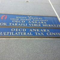 Photo taken at OECD Çok Taraflı Vergi Merkezi by Mücahit E. on 6/12/2014