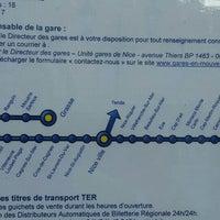 Photo taken at Gare SNCF de Beaulieu-sur-Mer by Evhen S. on 6/26/2016