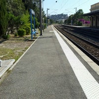 Photo taken at Gare SNCF de Beaulieu-sur-Mer by Evhen S. on 6/27/2016