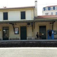 Photo taken at Gare SNCF de Beaulieu-sur-Mer by Evhen S. on 7/5/2016
