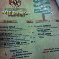 Photo taken at Mie Reman by Andhini S. on 2/12/2015