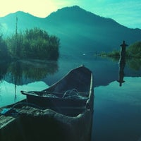 Photo taken at Batur Lake by Komang S. on 3/3/2014
