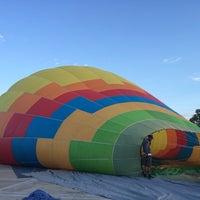Photo taken at Magical Adventure Balloon Rides by Rita C. on 7/5/2014