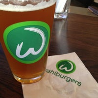 Photo taken at Wahlburgers by Ryan B. on 4/21/2013