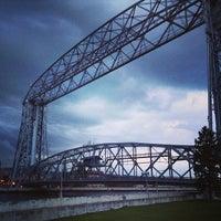 Photo taken at Duluth Lift Bridge by Josiah W. on 5/30/2013