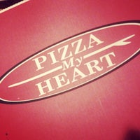 Photo taken at Pizza My Heart by steph m. on 2/15/2015