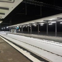 Photo taken at BLS Bahnhof Utzenstorf by Yuri L. on 12/9/2012