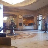 Photo taken at Sofia Hotel Balkan by Yuri L. on 4/11/2013