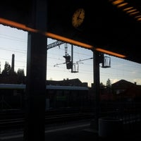 Photo taken at Bahnhof Langnau i.E. by Yuri L. on 12/29/2012