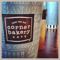 Photo taken at Corner Bakery Cafe by Jason R. on 1/14/2013