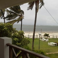 Photo taken at Nyali Beach Holiday Resort by Chris B. on 4/27/2013