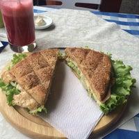 Photo taken at La Famosa Sandwichería by Laura Marcela Q. on 8/15/2015