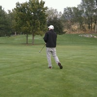 Photo taken at Fox Hollow Golf Course by Sarah G. on 9/26/2012