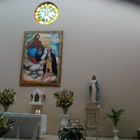Photo taken at Parroquia Santa Rosa J.C.T by Yvis on 11/24/2012