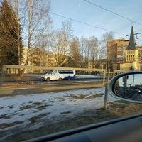 Photo taken at Rušonu Iela by Maris S. on 2/13/2017