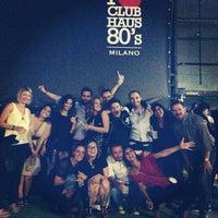 Foto scattata a Club Haus 80's da Giuliano G. il 9/21/2013