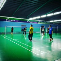 Photo taken at Pro One Badminton Centre by Zulhariz Z. on 1/25/2017