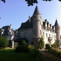 Photo taken at Chateau de montbrun by Jean-Michel D. on 7/7/2013