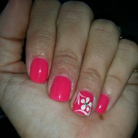 Photo taken at Mystical nails by Jennifer l. on 9/26/2014