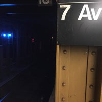 Photo taken at MTA Subway - 7th Ave (B/Q) by Scott Kleinberg on 1/31/2017