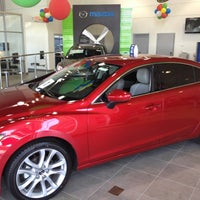 Photo taken at Bommarito Mazda St. Peters by Dustin G. on 5/15/2013
