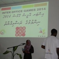 Photo taken at Youth Centre by Ibrahim N. on 11/16/2014