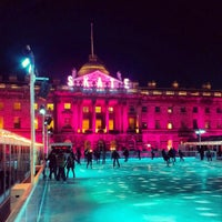 Photo taken at Somerset House by Eric K. on 12/5/2012
