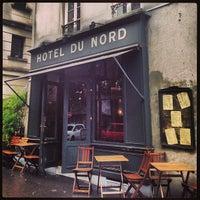 Photo taken at Hôtel du Nord by Femke H. on 9/14/2013