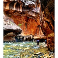 Photo taken at Zion National Park by Adam R. on 6/11/2013