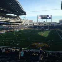 Photo taken at Investors Group Field by Keith C. on 7/19/2013